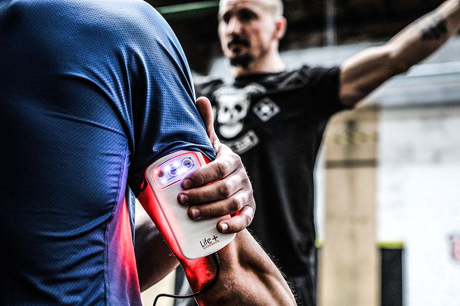Life+ sur triceps